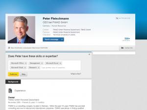 """The good looking """"Peter Fleishmann"""""""