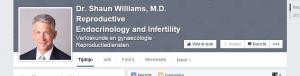 Dr. Shaun's Facebook profile